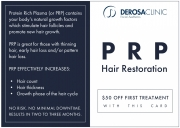 DeRosa Hair Restoration Promo Side 2